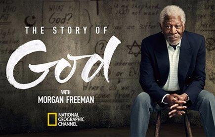 Смотреть шоу Морган Фриман. Истории о Боге онлайн