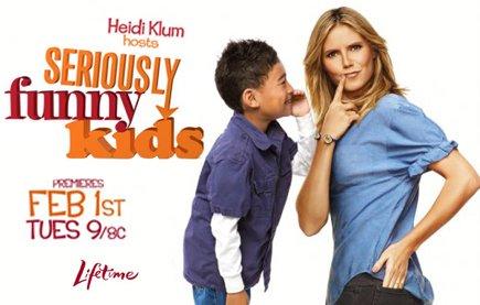 Смотреть шоу Детские забавы с Хайди Клум онлайн