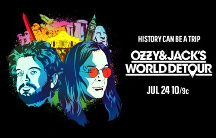 Смотреть шоу Кругосветное путешествие Оззи и Джека онлайн